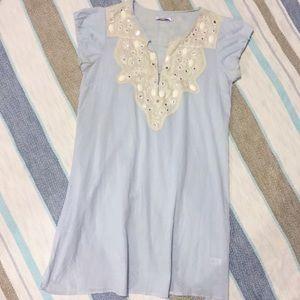 Calypso St. Barth Caftan Tunic Dress Coverup